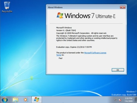 Windows 7 E