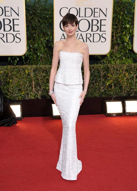 Globos de Oro 2013: Las mejor vestidas (I)