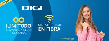 Digi lanza datos ilimitados para el móvil y lleva su fibra hasta un giga sin aumento de precio