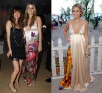 Maxivestido de Cavalli:¿Mischa o Lauren?
