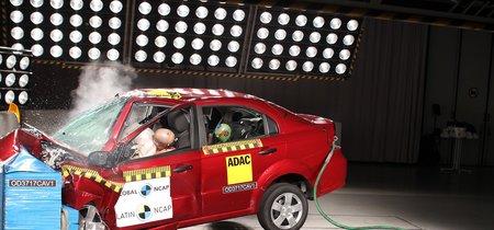 Latin NCAP: Cero estrellas para Chevrolet Aveo (sí, con dos airbags) y cuatro para Nissan Kicks