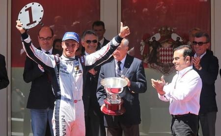 Nico Müller gana en Mónaco y Carlos Sainz Jr es sexto en su debut en la Fórmula Renault 3.5