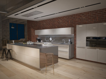 Dekton Blaze Xgloss Kitchen Countertop