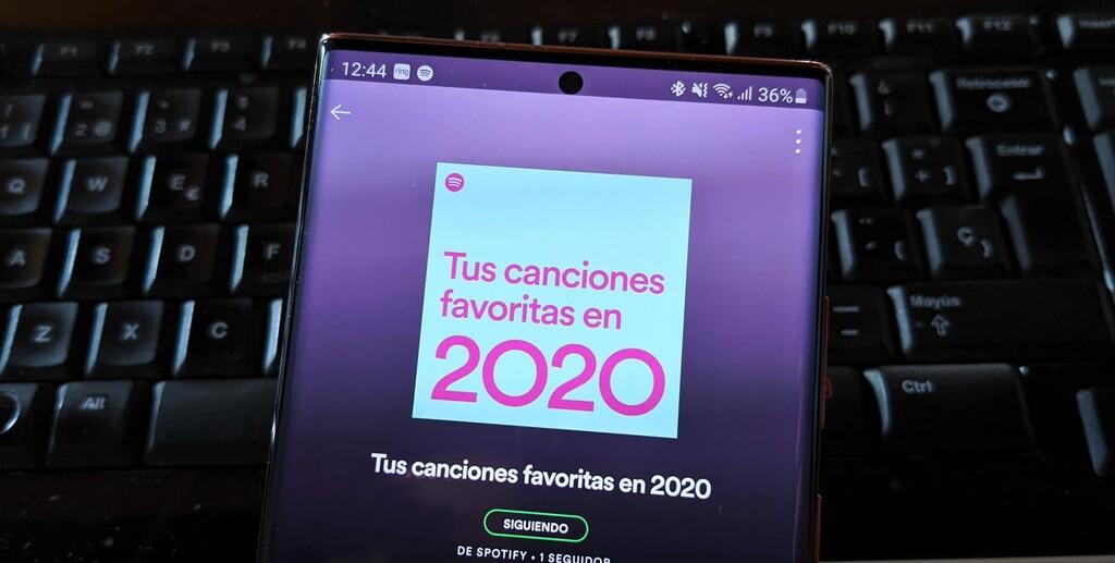 Lo que más escuchaste durante 2020 ya en Spotify: disponible la lista con tus canciones favoritas