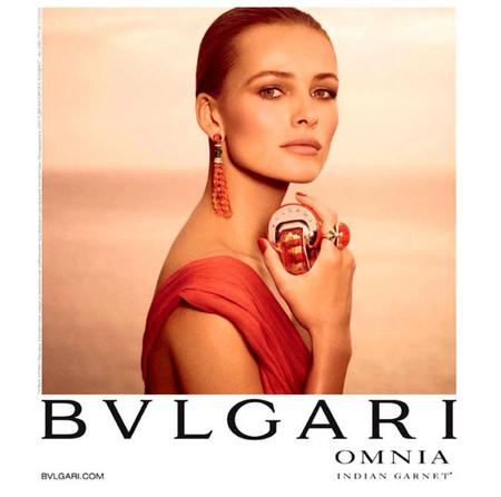 La modelo Edita Vilkeviciute ha posado para la campaña Bvlgari Omnia Indian Garnet