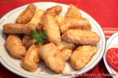 Receta de delicias de merluza caseras