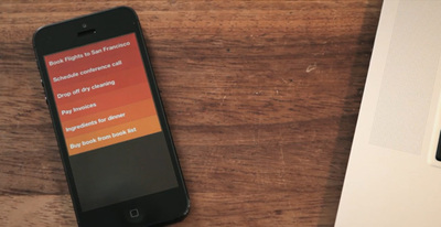 Viste tu smartphone con las aplicaciones más elegantes: listas de tareas