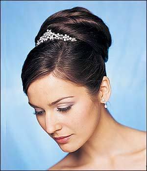 gallery of foto de tendencia peinados novia moos altos with peinados de moos altos with moos altos para boda - Peinados De Moos