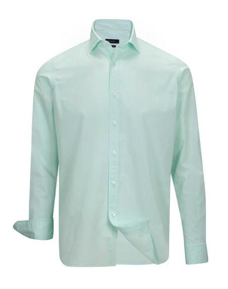 Camisa verde emidio tucci