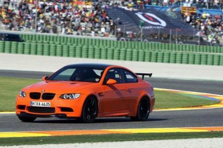 Valentino Rossi con el BMW M3 GTS