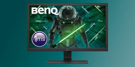 """El monitor BenQ GL2780 de 27"""" está más barato que nunca en Amazon: 119,99 euros con resolución Full HD, 75Hz y altavoces"""
