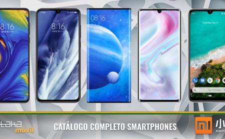 Xiaomi Mi Note 10 y Redmi Note 8T, así encajan dentro del catálogo completo de móviles Xiaomi en 2019