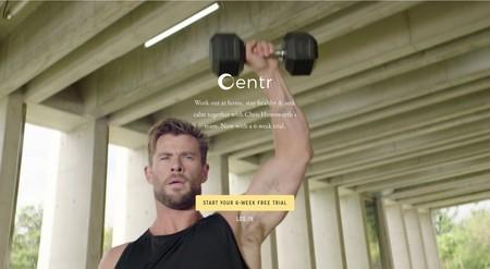 Centr, la app de entrenamiento de Chris Hemsworth y Elsa Pataky, gratuita durante seis semanas para seguir entrenando durante la cuarentena