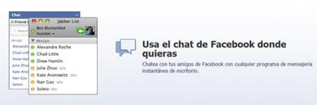 El chat de Facebook se independiza y da el salto al escritorio
