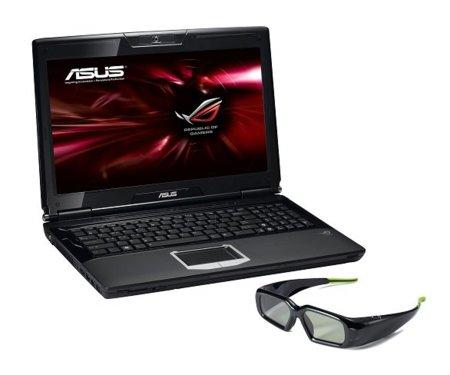 Asus G51JX 3D, bestia en dos y tres dimensiones