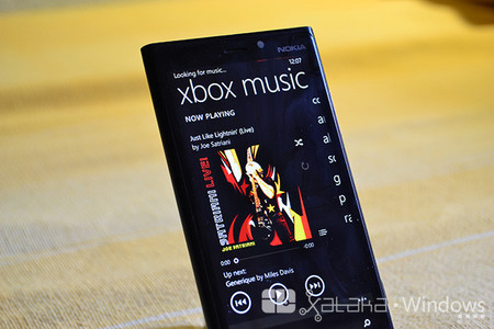 Xbox Music recibe una nueva actualización en Windows Phone 8.1