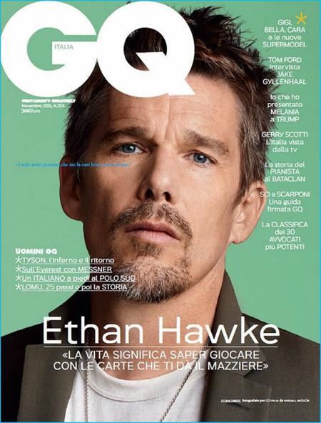 Ethan Hawke 2016 Gq Italia Cover