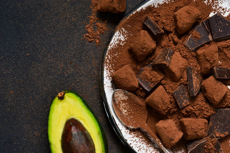 Siete recetas sorprendentes de aguacate con chocolate