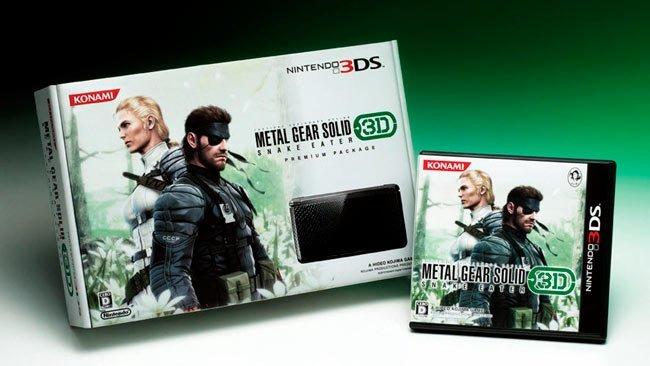 Nintendo 3DS Snake Eater Edition