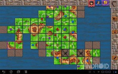 Carcassonne para Android: mi reino por una pieza