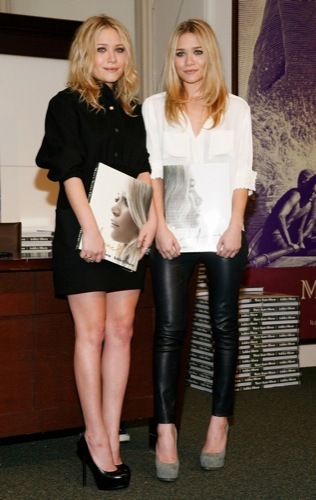 El estilo grunge por Mary-Kate y Ashley Olsen, tendencia 2009 IX