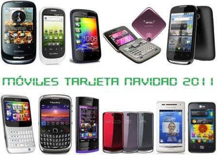 Precios móviles de tarjeta prepago, comparativa