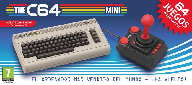THE C64 Mini, el retorno del Commodore 64 en forma de consola mini, será lanzado en marzo