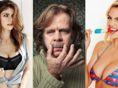"William H. Macy no es tonto: ficha a Alexandra Daddario y Kate Upton para su ""road trip"""