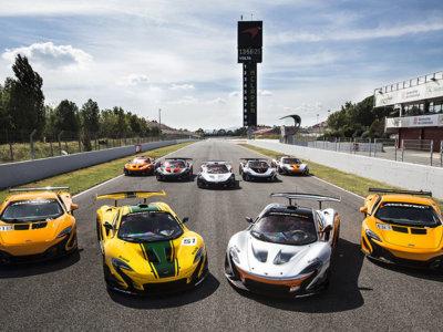 McLaren estrena el programa GTR en Cataluña (vídeos)