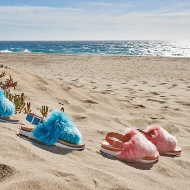 Las UGG también son para el verano. Hay sandalias que van a arrasar