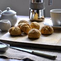 Panecillos de boniato y miel. Receta para perder el miedo a hacer pan