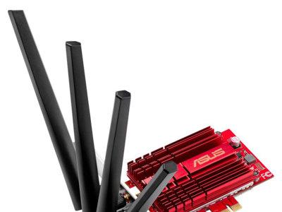 Si buscas tarjeta WiFi para el ordenador, esta de Asus es la más potente que podrás encontrar