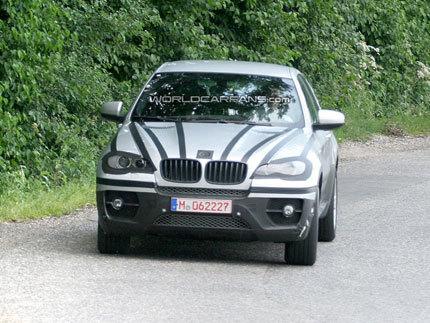 El BMW X6 sin camuflaje