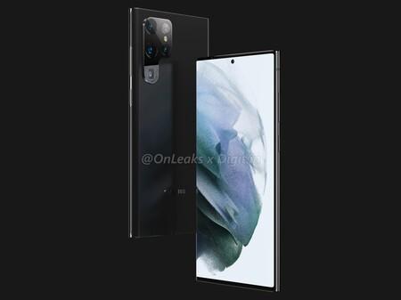 Se filtra el Galaxy S22 Ultra: las primeras imágenes revelan un diseño a lo Galaxy Note y confirman el S-Pen en su interior