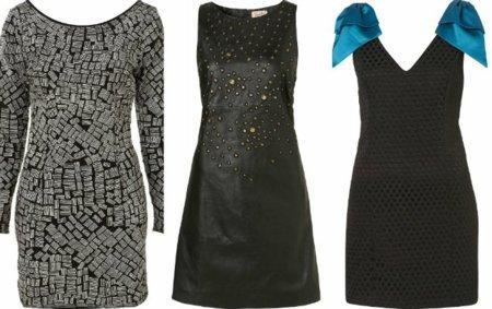 vestidos cortos fiestas topshop