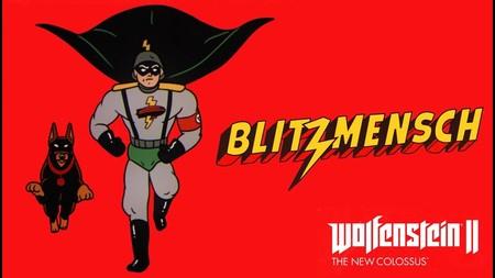 """Blitzmensch, tu nuevo """"über héroe"""" favorito, protagoniza el nuevo tráiler de Wolfenstein II: The New Colossus"""