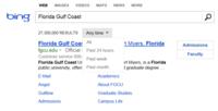 Bing ya permite buscar filtrando por fecha