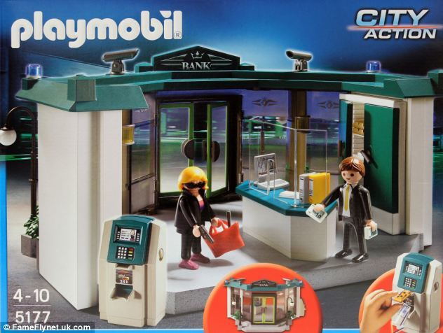 Playmobil robo banco