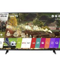 Smart TV de 43 pulgadas LG 43UJ620V, con resolución 4K, por sólo 349,98 euros y envío gratis