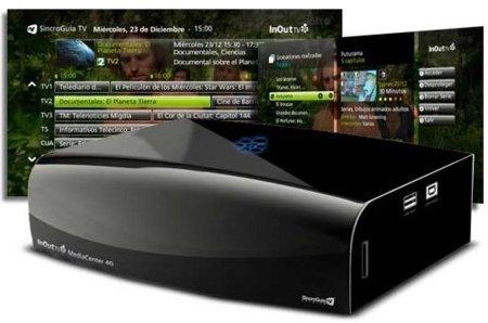 MediaCenter 4G de InOut TV hace la TDT más inteligente con ayuda de Internet