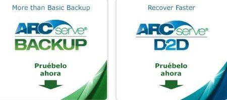 Nuevas soluciones de copia de seguridad de ARCserve