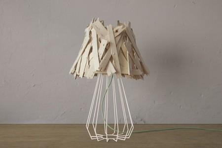 Recicladecoración: lámparas hechas a partir de cajas de fruta
