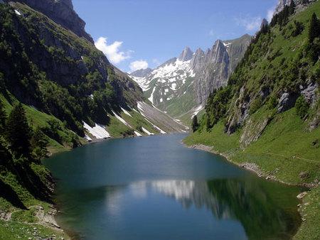 Volando sobre los Alpes