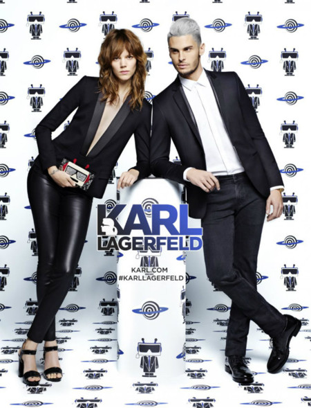 Karl Lagerfeld 2016 Spring Summer Campaign Baptiste Giabiconi 002