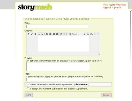 StoryMash, otra de literatura colaborativa