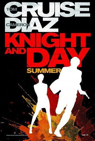 'Knight and Day' con Tom Cruise y Cameron Diaz, primer cartel