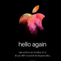 Hola de nuevo: Apple confirma evento para el 27 de octubre en donde presentará nuevos Mac