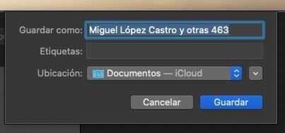 Exportar Contactos Mac 4
