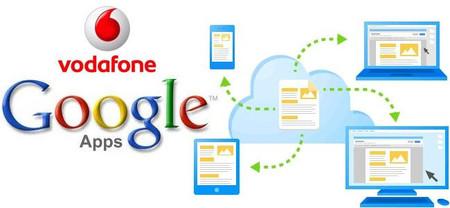 Vodafone también comercializará Google Apps