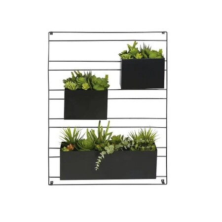 Decoracion De Pared 3 Plantas Ar